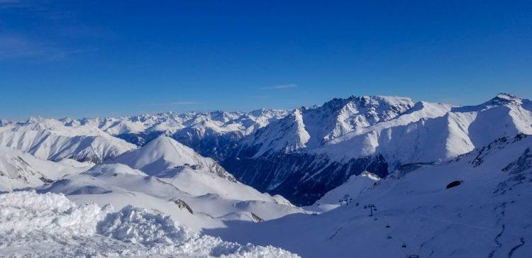 Ski snowboard Ischgl Austria Samnaun Elvetia