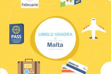 Oferta Malta Cazare Zbor Airbnb Ryanair Wizzair