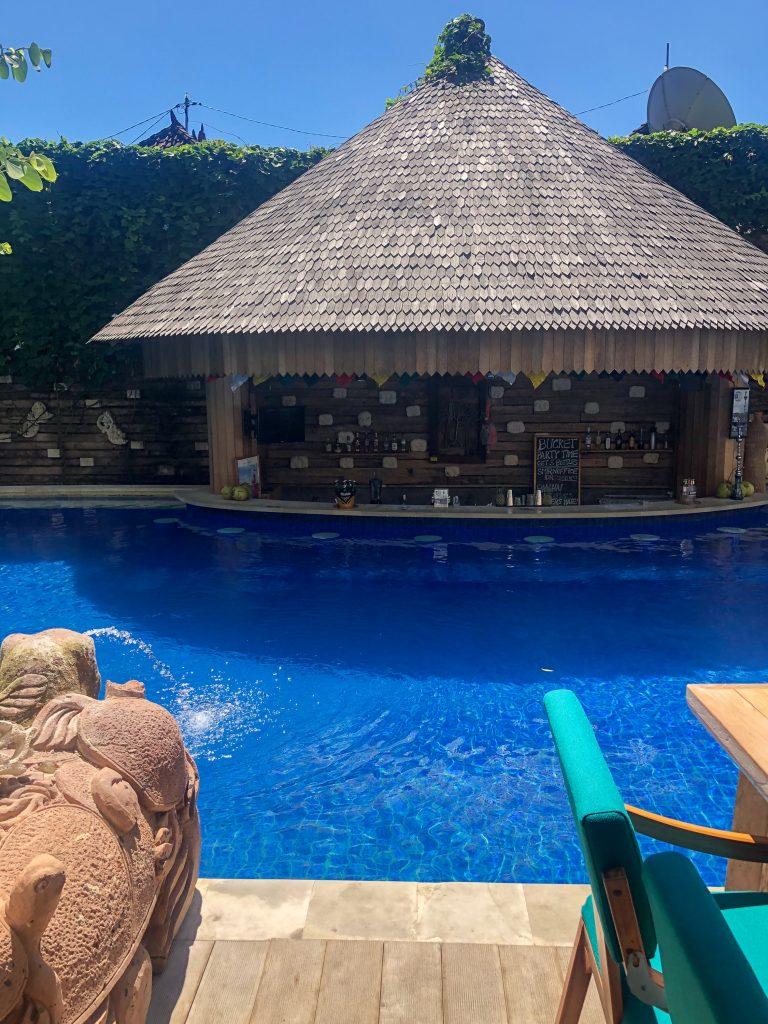 Bar piscina Jimbaran Bay Beach Resort Bali