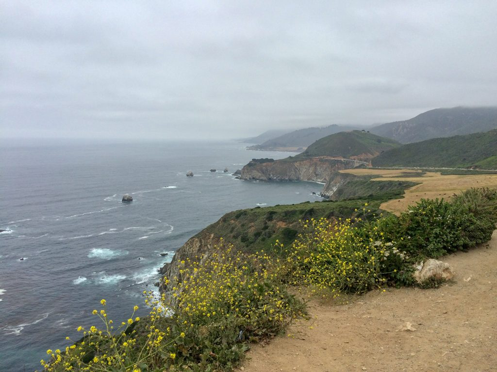 Big Sur Highway 1 roadtrip SUA coasta de Vest