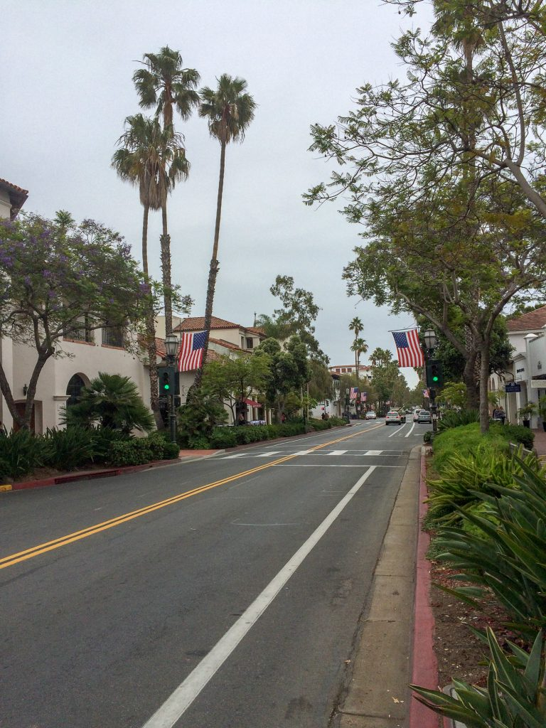 Santa Barbara California SUA coasta de Vest