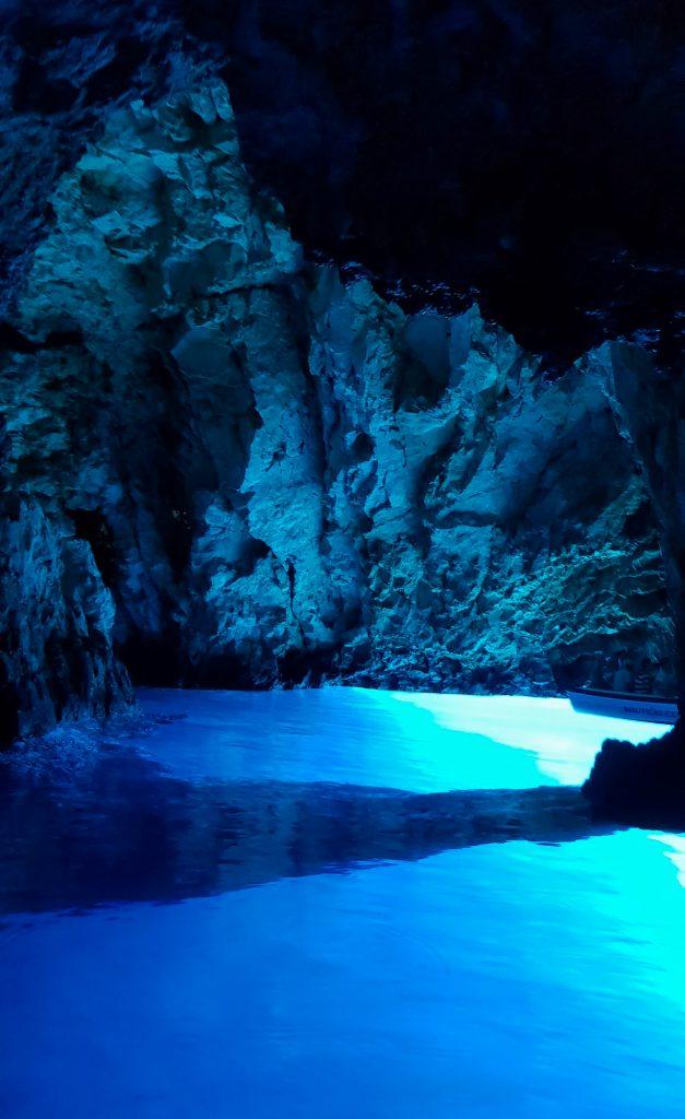 Blue cave insula Bisevo Croatia