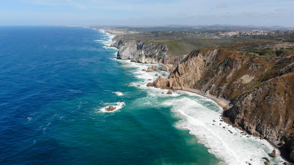 Cabo da Roca Lisabona Portugalia