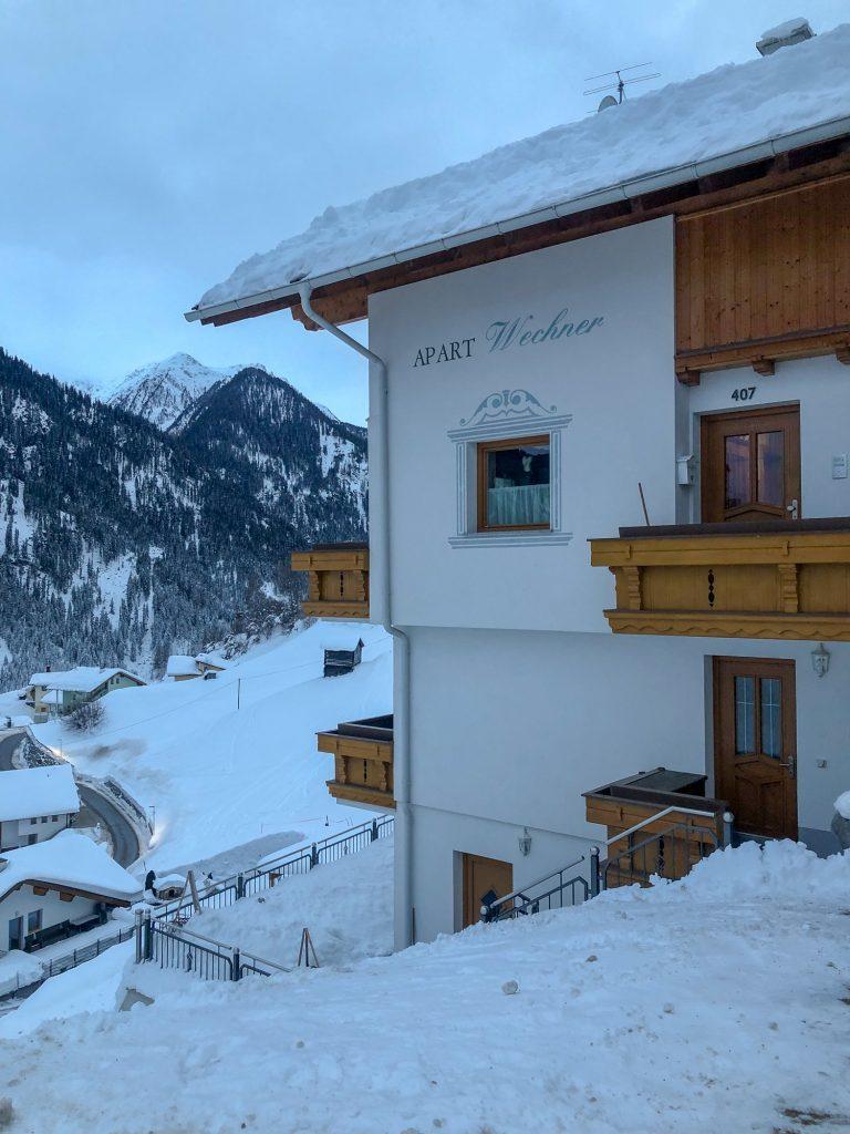 Apart Wechner cazare Kappl Ischgl Austria Tirol ski