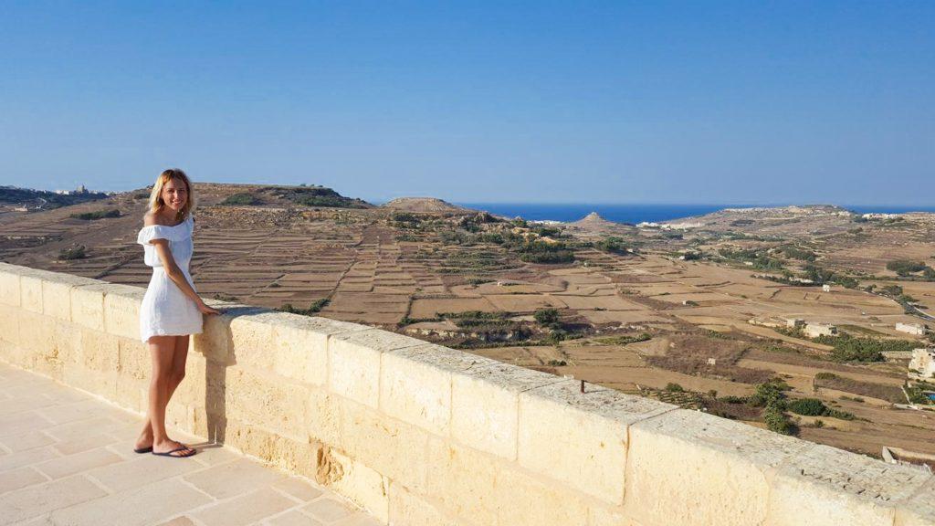 Citadella Victoria insula Gozo Malta