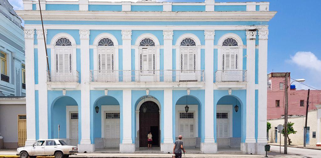 Cladire coloniala Cienfuegos Cuba
