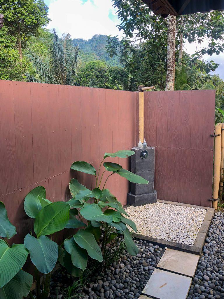 Dus aer liber Patal Kikian Villa Sidemen Bali