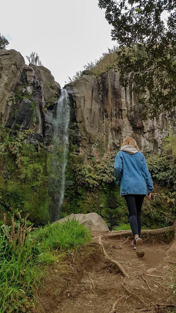 Queda de Água do Salto da Farinha Sao Miguel Azores