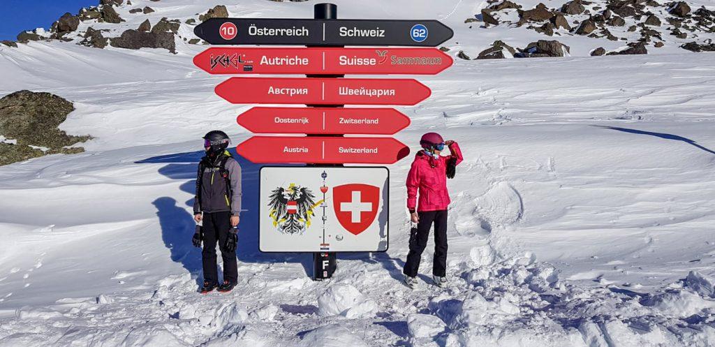 Granita Austria Elvetia Ischgl Samnaun partii ski snowboard