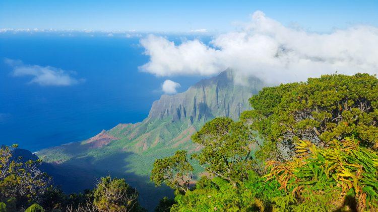Kalalau Valley Viewpoint Kauai Hawaii