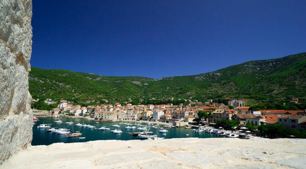 Komiza insula Vis Croatia