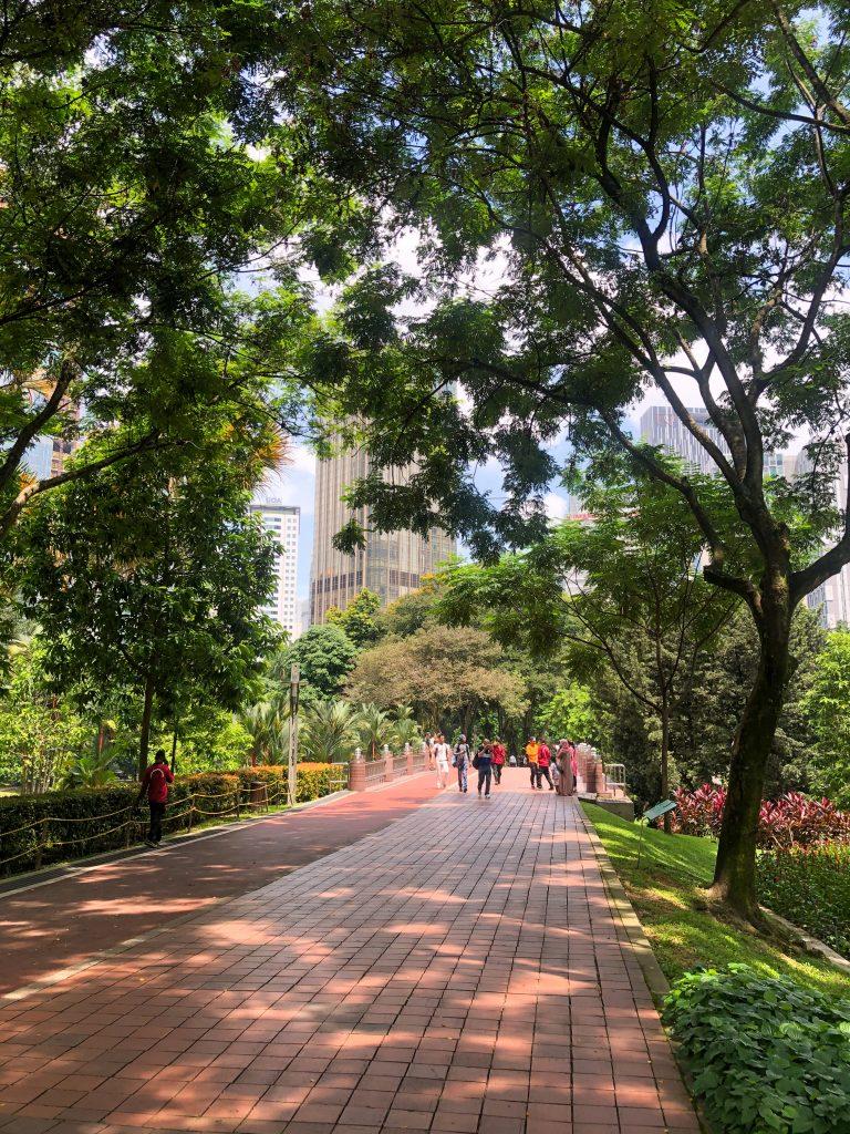 KLCC Park Kuala Lumpur Petronas Towers Malaysia