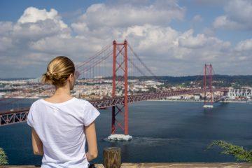 Podul 24 Aprilie Lisabona Portugalia