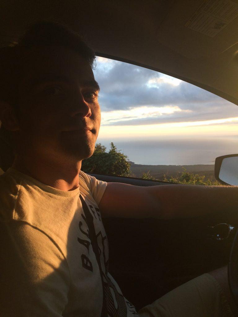 Masina inchiriata pe insula Maui Hawaii