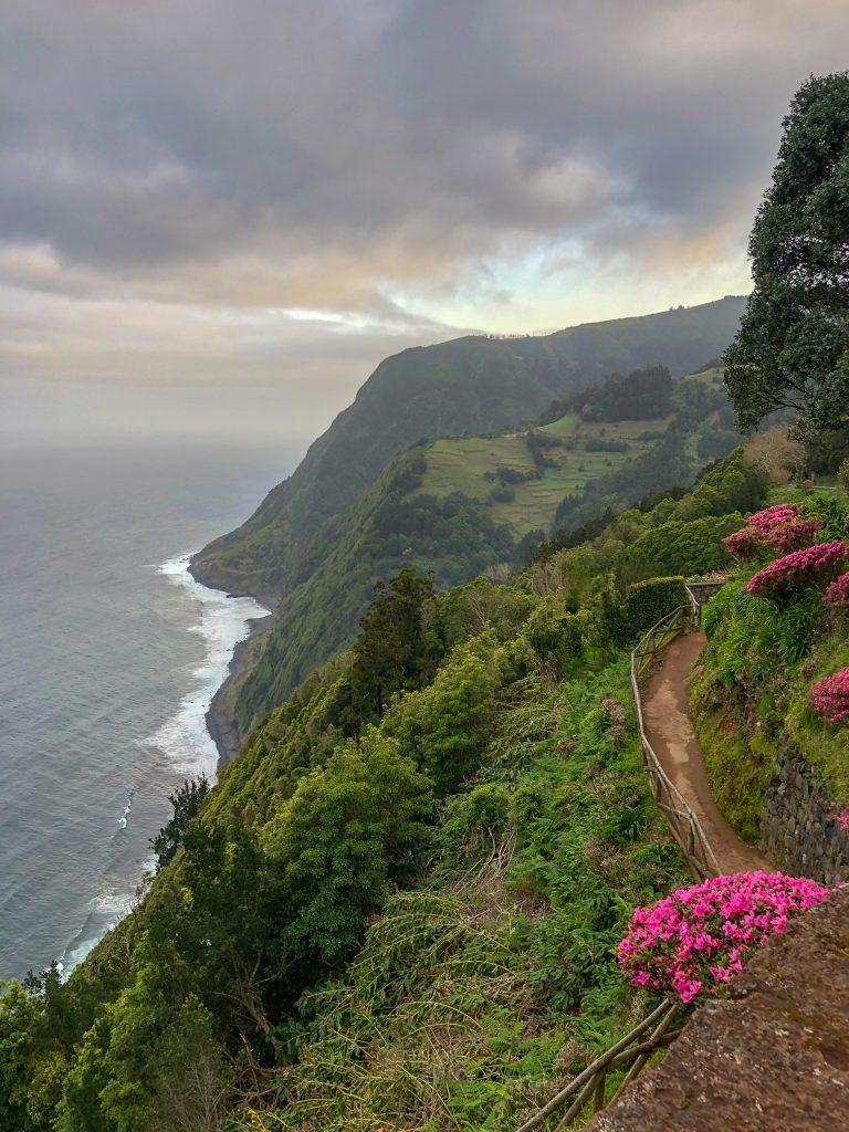 Miradouro da Ponta do Sossego Sao Miguel Azore