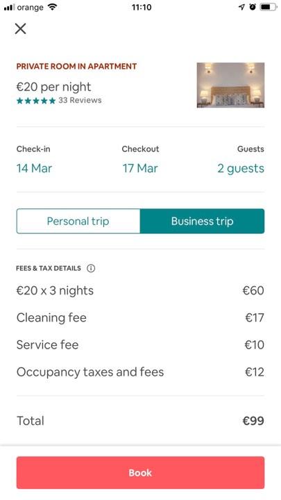 Oferta cazare Airbnb Lisabona