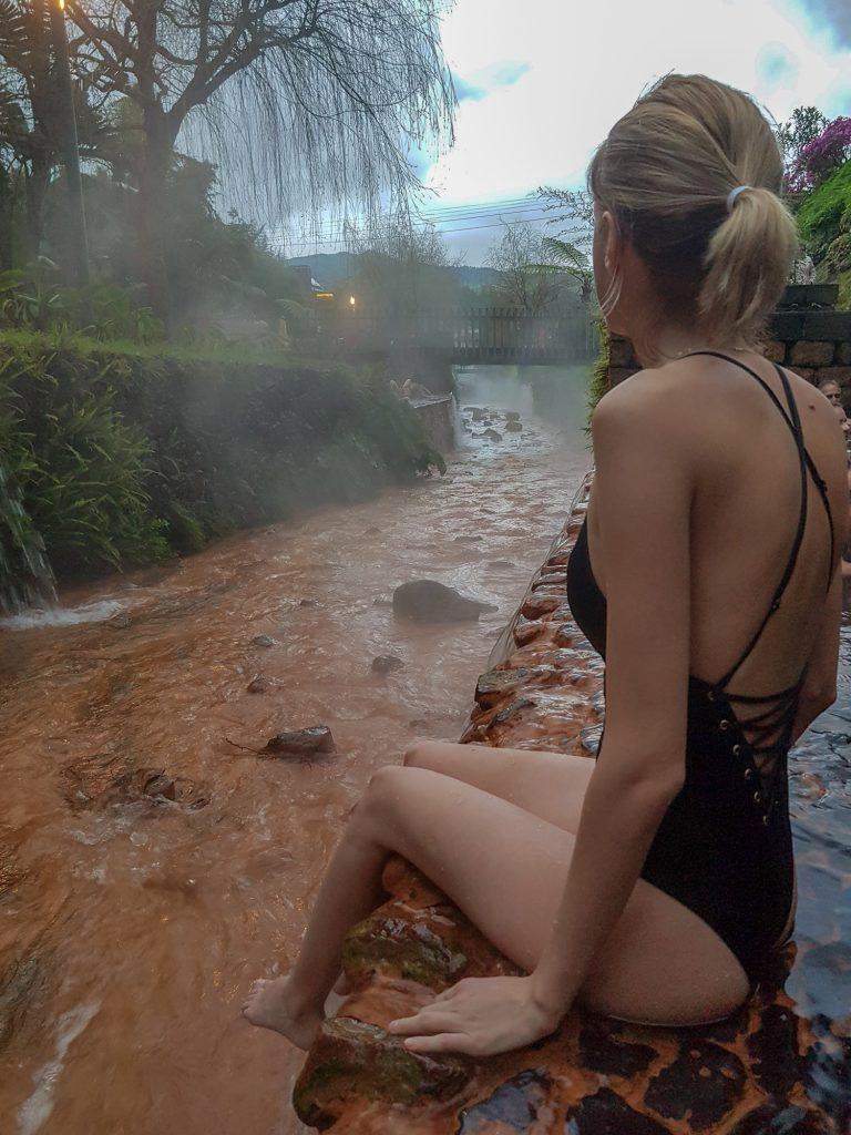 Poça da Dona Beija Hot Spring Azores