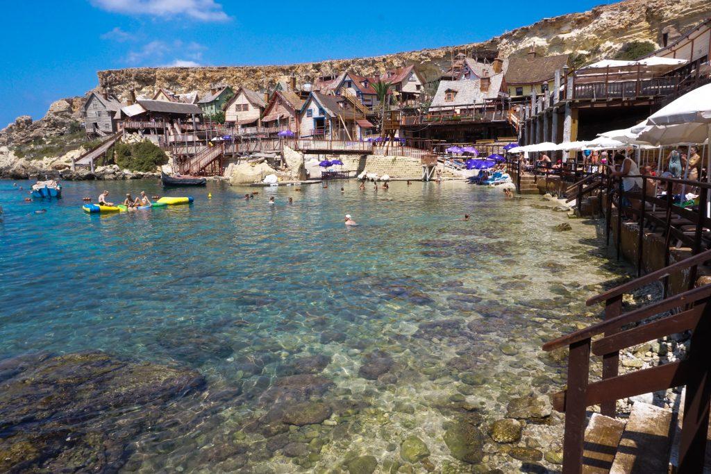Popeye Village insula Malta