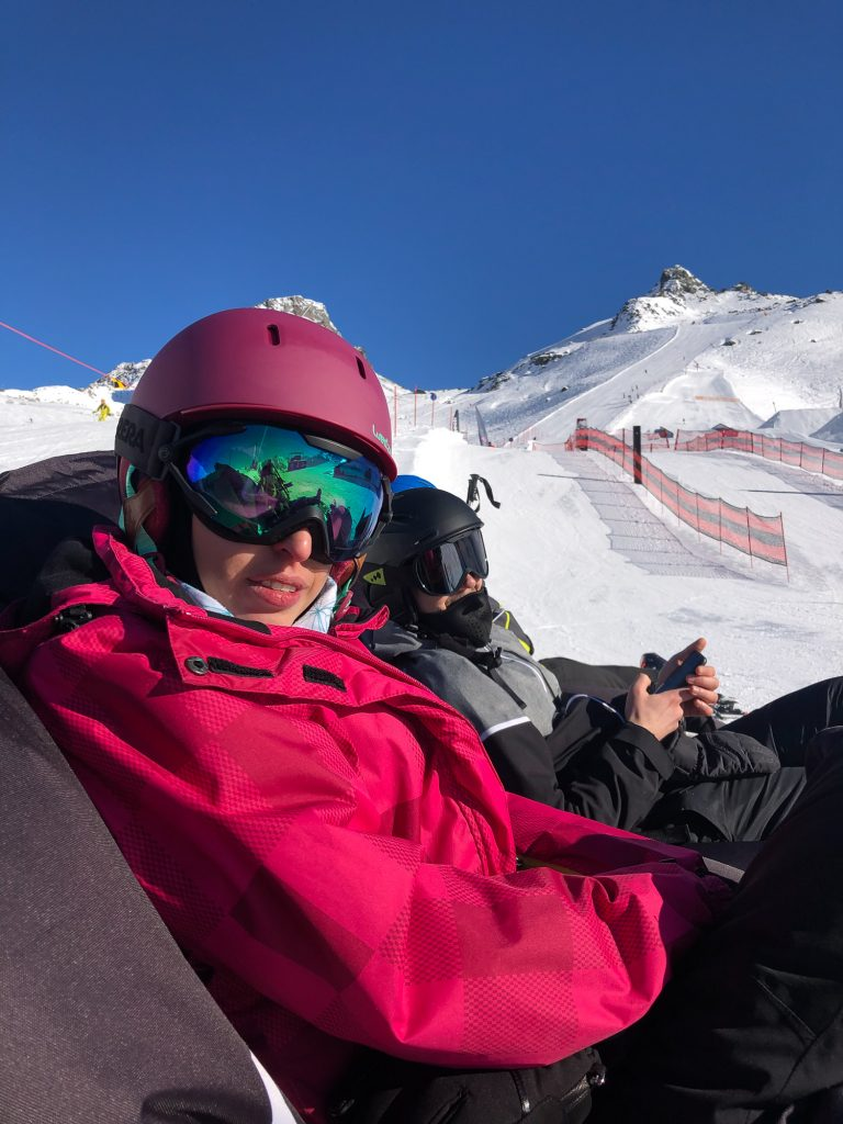Ischgl Austria ski snowboard fun park