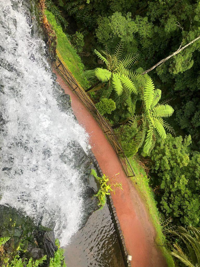 Parque Natural da Ribeira dos Caldeirões Sao Miguel Azore