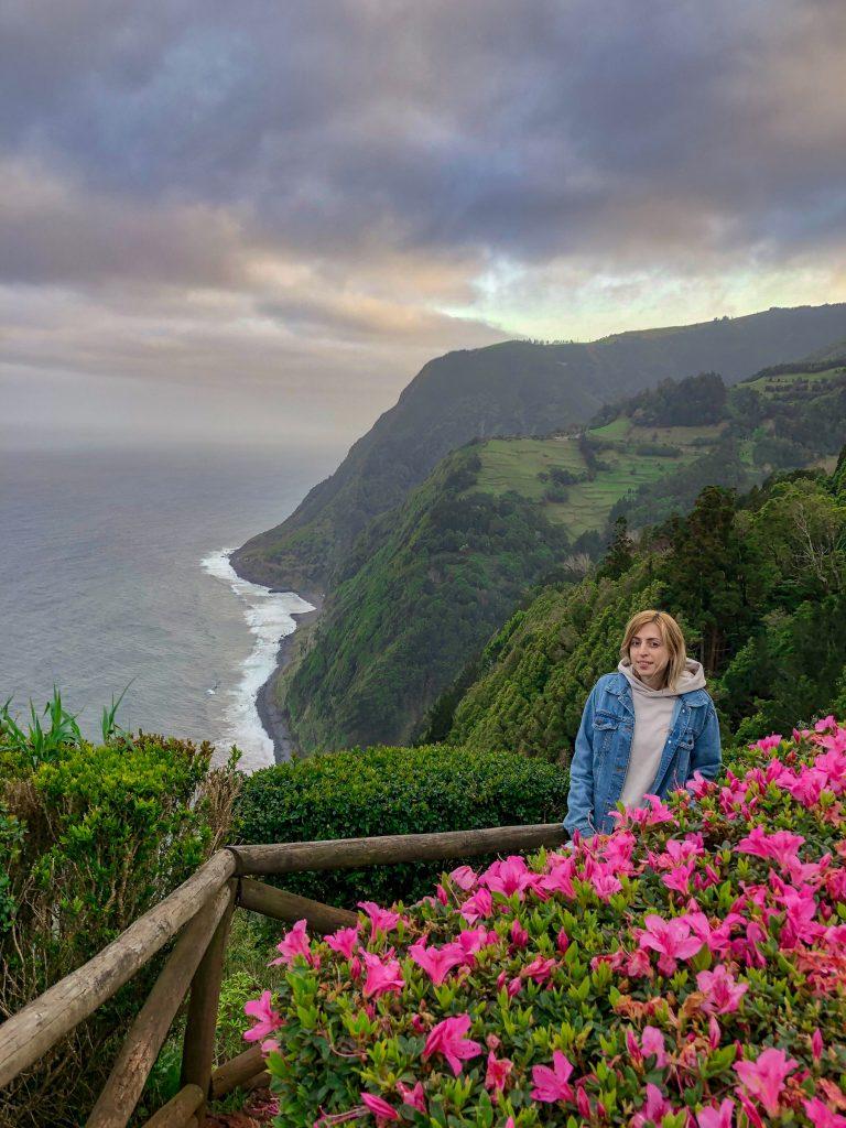 Miradouro da Ponta do Sossego Sao Miguel Azores Travel Budget