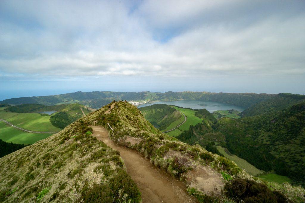 Miradouro da Boca do Inferno Sao Miguel Azores Sete Cidades
