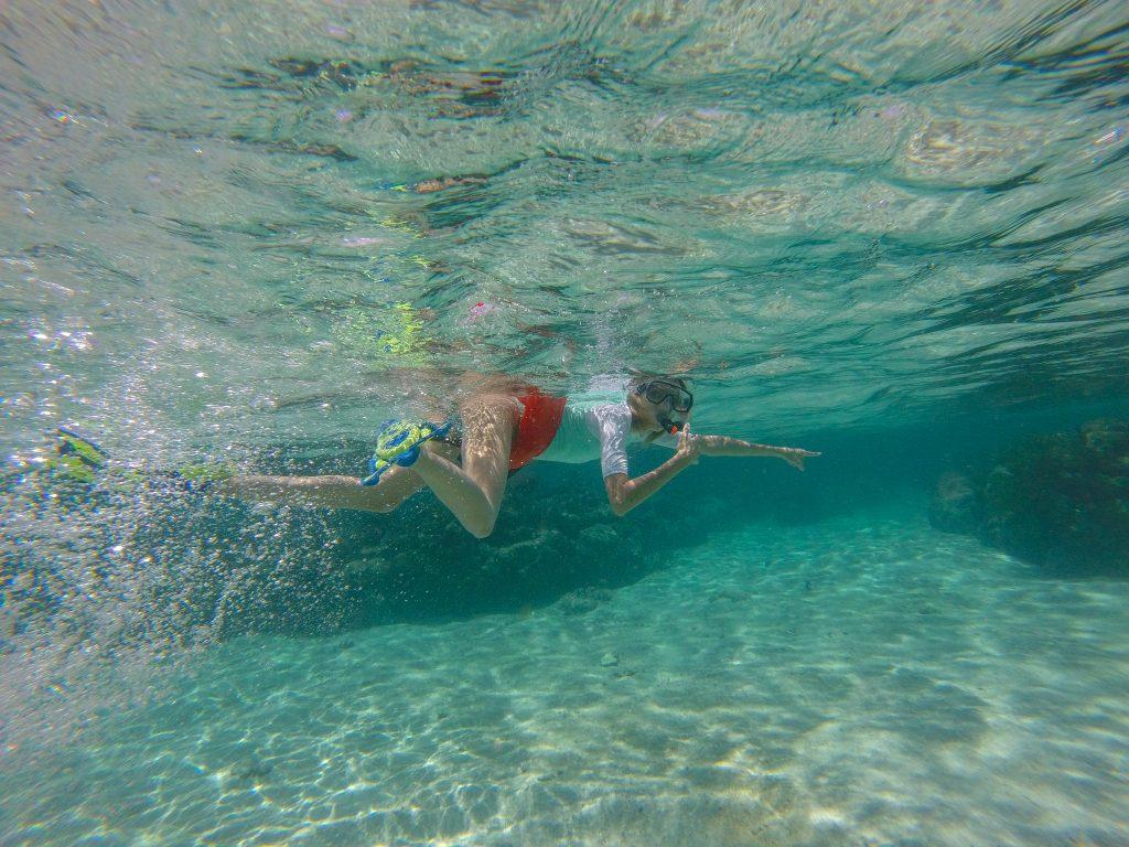 Croaziera Caraibe insula Caye Caulker Belize Snorkel