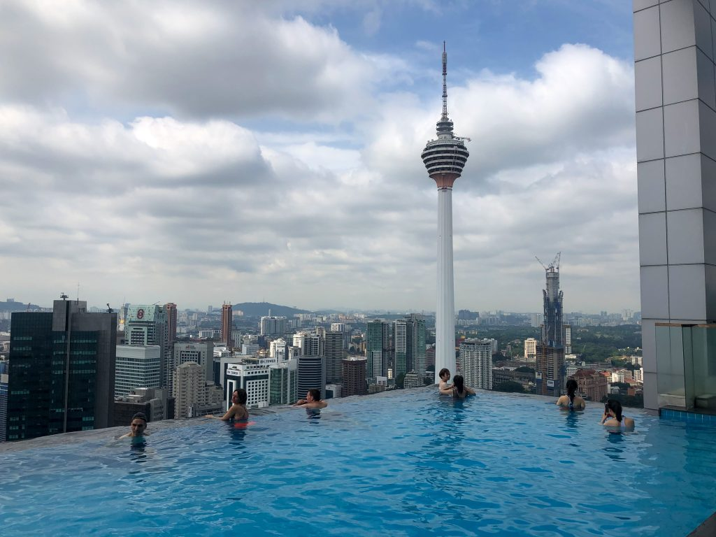 Kuala Lumpur The FACE Suites infinity pool Malaysia