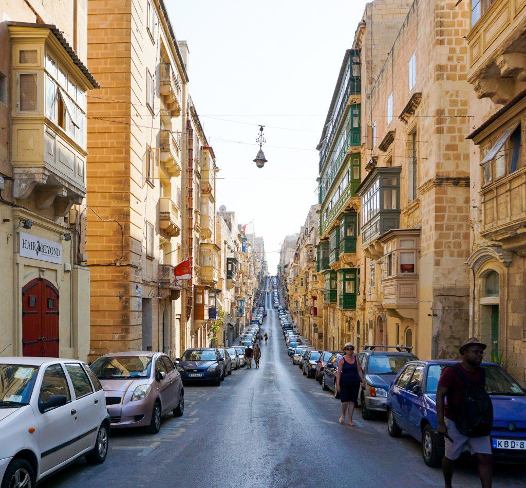 Valletta Malta Strada Cladiri