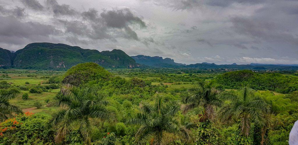 Viñales Valley Cuba vazut de la Hotel Los Jasmines