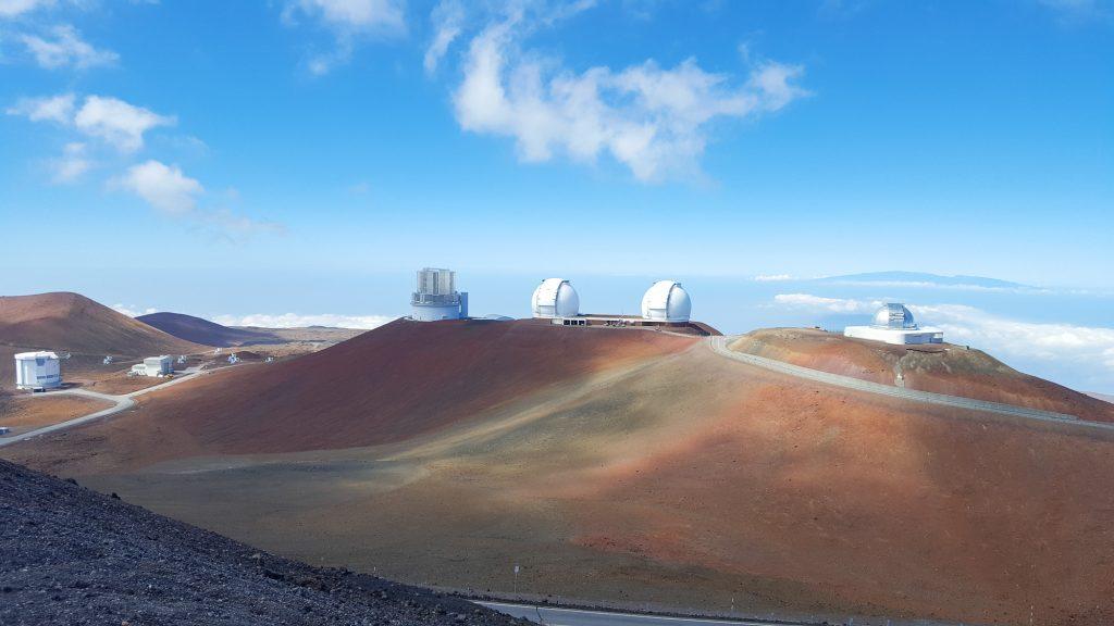 Observator vulcan Mauna Kea Big Island Hawaii
