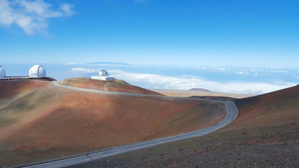 Vulcan inactiv Mauna Kea Big Island Hawaii