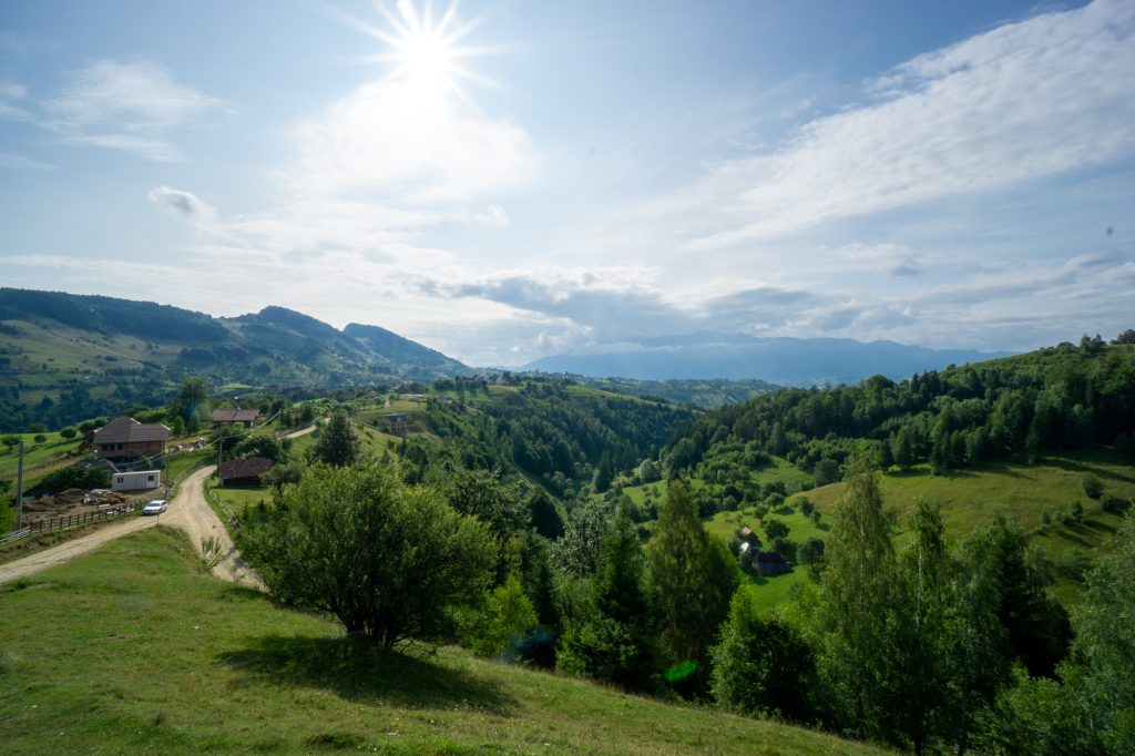 Magura village Moeciu Brasov Romania mountains