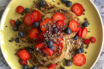 Reteta mic dejun sanatos - clatite americane din banane