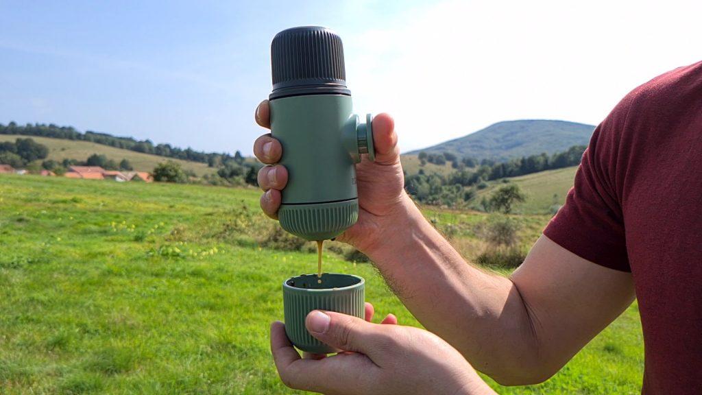 Aparatul de cafea portabil Wacaco Nanopresso