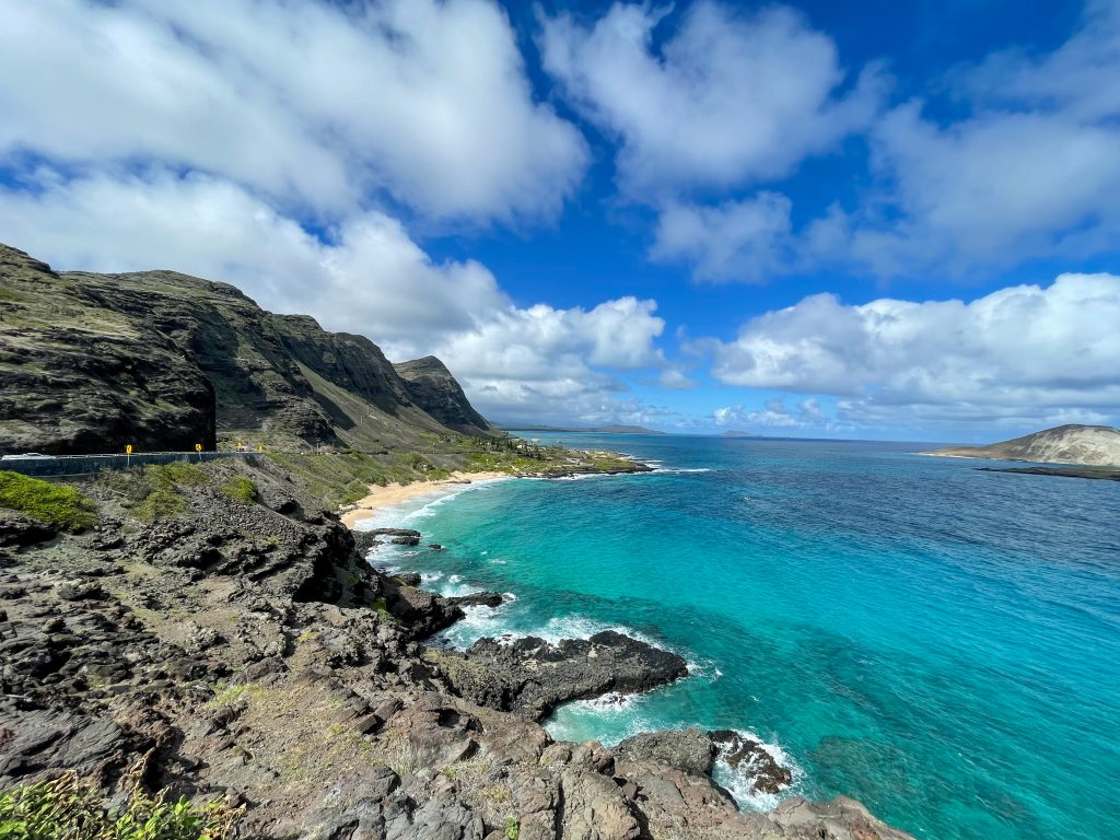 Oceanul pe Oahu, Hawaii