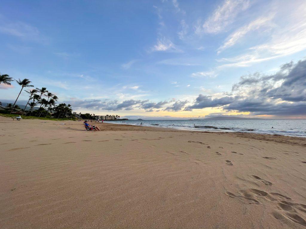 Plaja de vis pe insula Maui, Hawaii