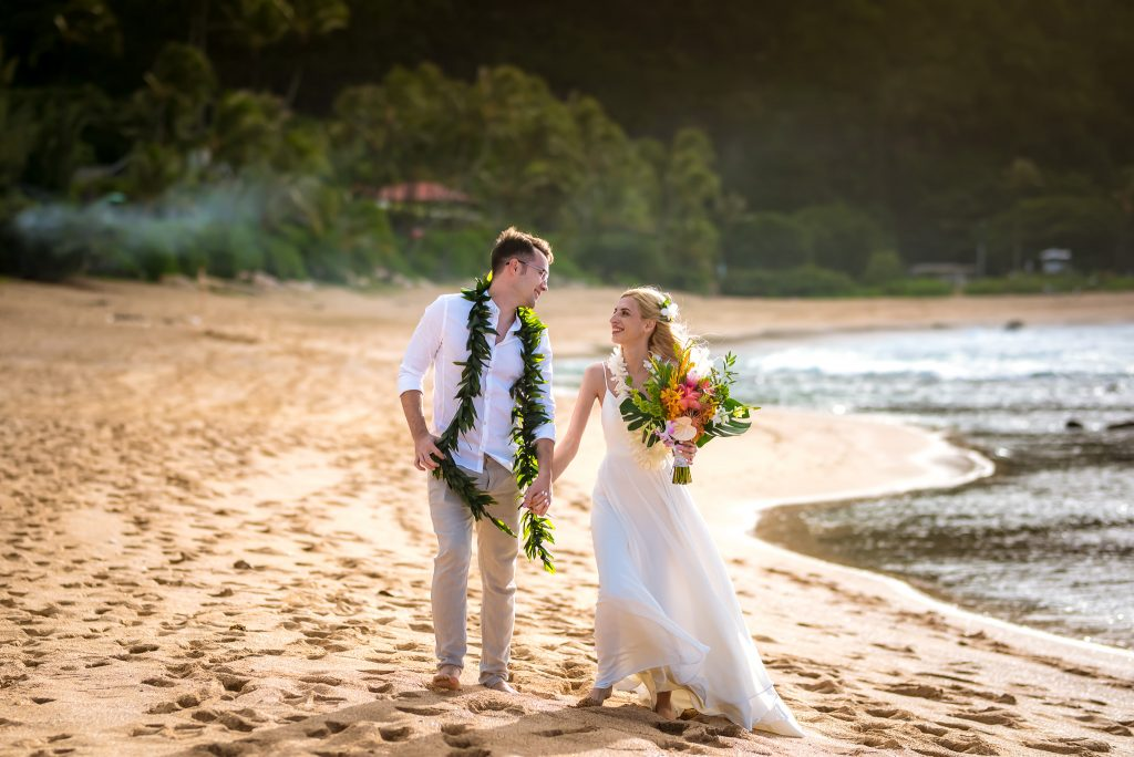 Nunta pe plaja in Hawaii SUA