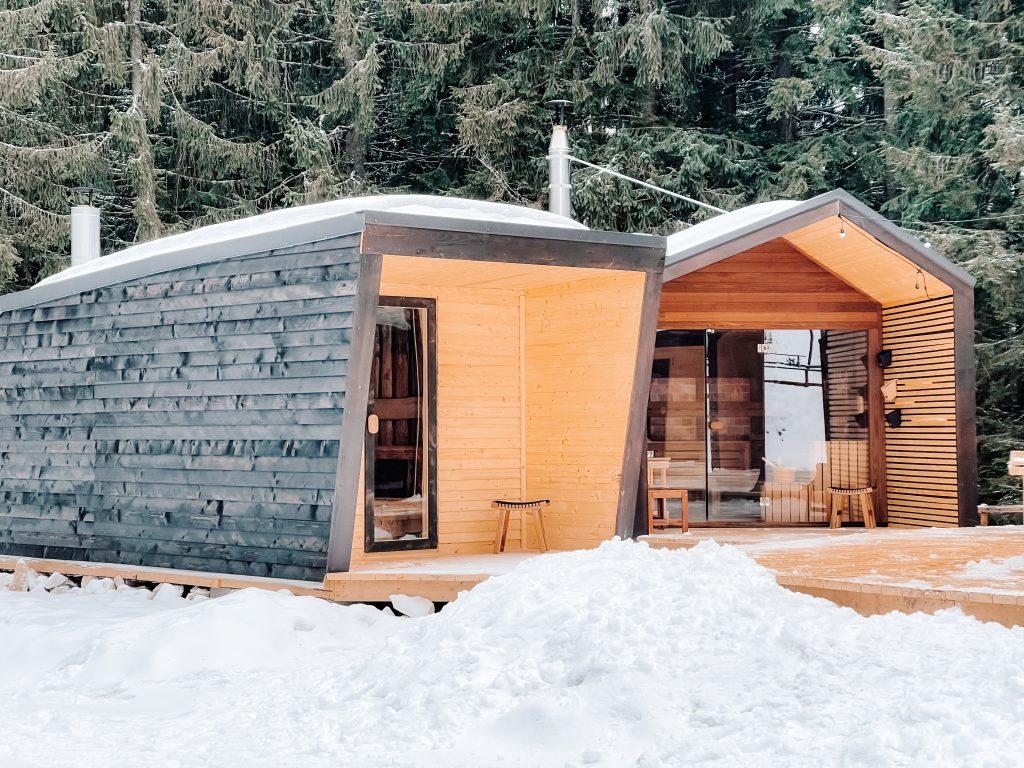 Cabana cu Sauna Village Bucin Harghita