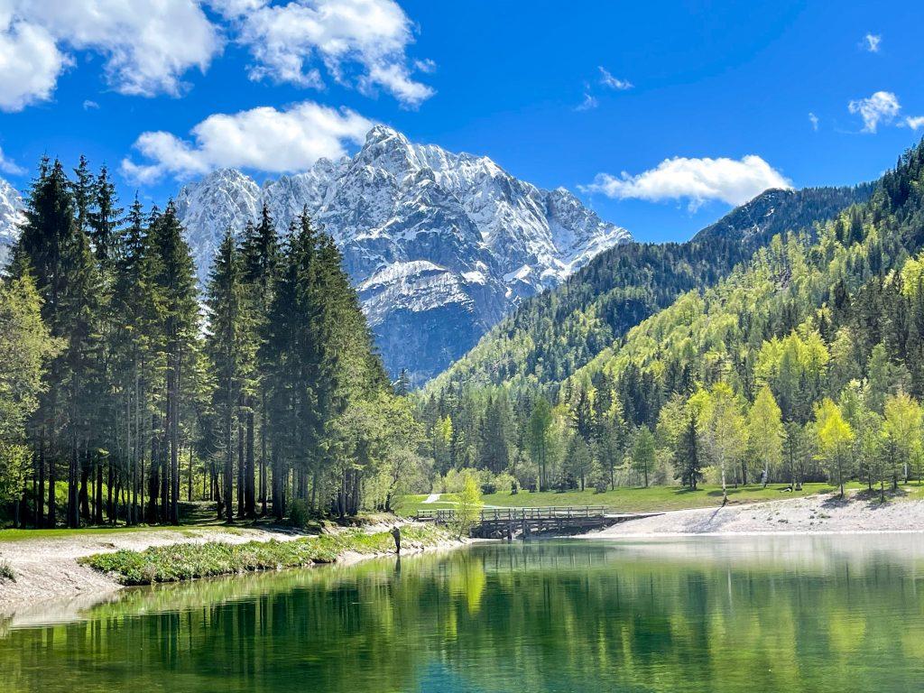 Lacul Jasna Alpii Iulieni Slovenia autorulota
