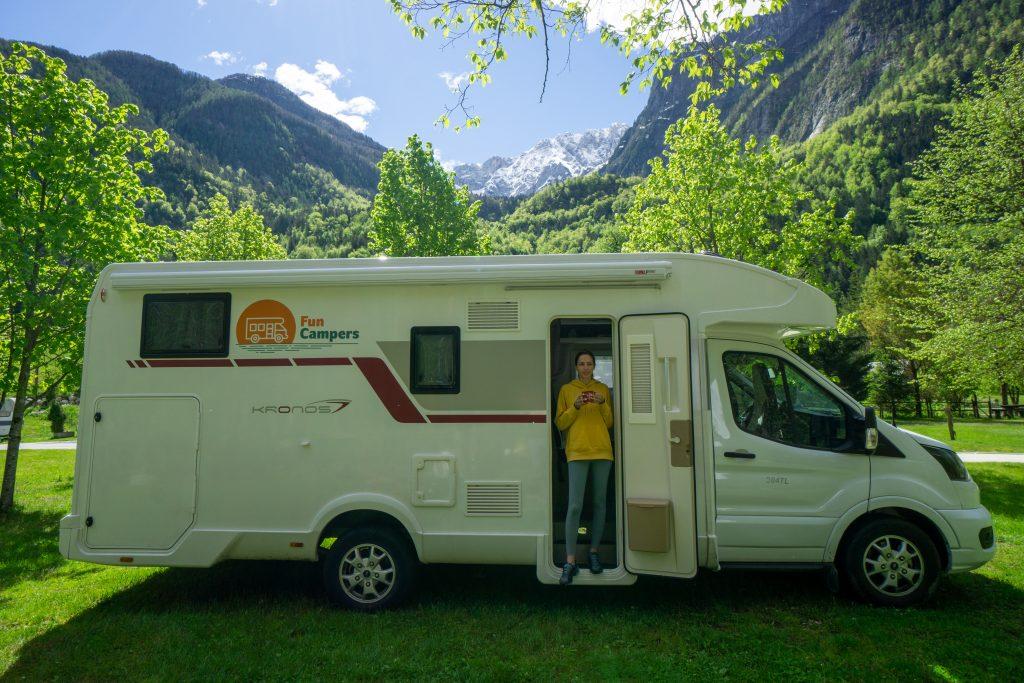 Camping Triglav National Park Slovenia