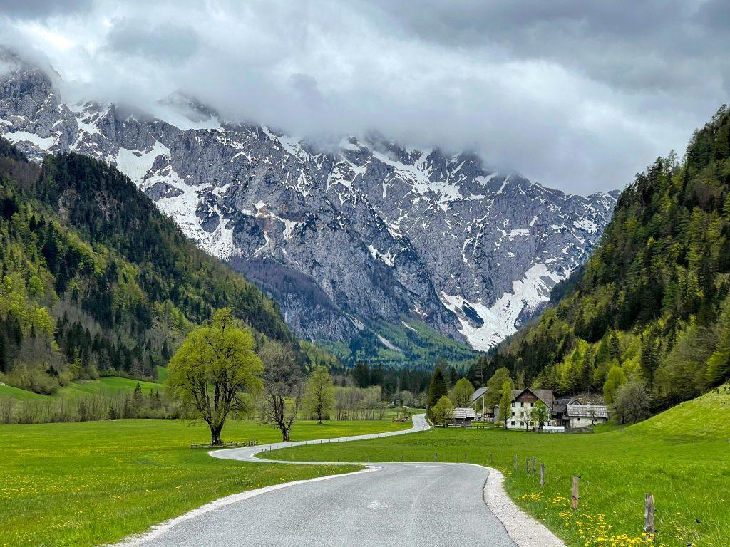 Logar Valley Slovenia campervan
