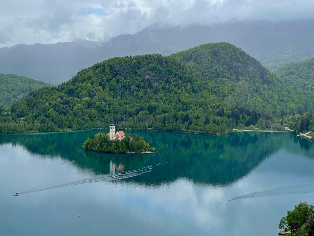 Lacul Bled Slovenia