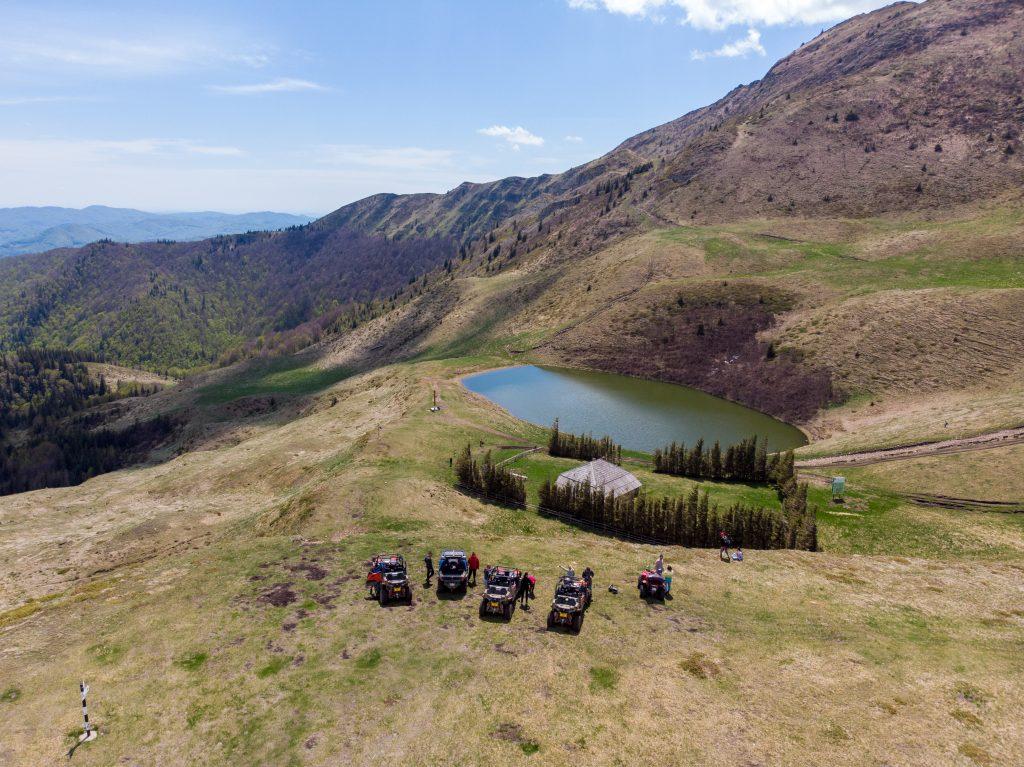 Lacul Vulturilor judetul Buzau