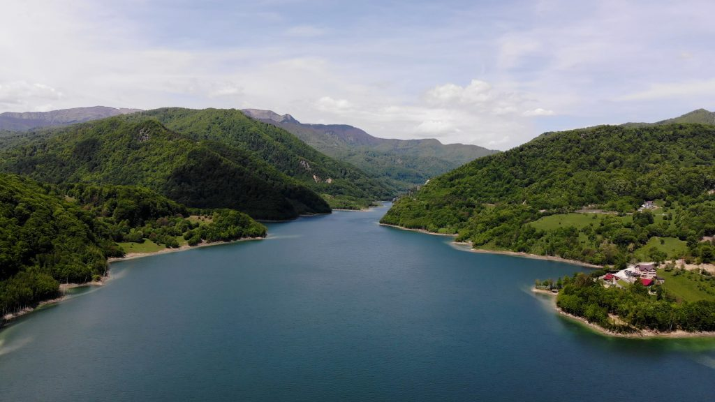 Lacul Siriu Romania