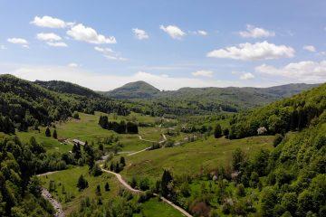 Muntii Siriului judetul Buzau Romania
